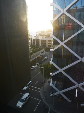 Ibis Sydney King Street Wharf:                                     view from room at an angle