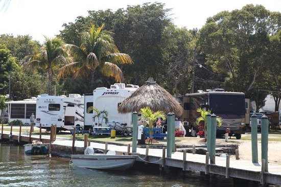 Kings Kamp:                   RV sites and dock