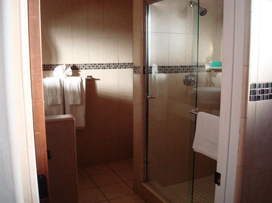 Eagle Inn:                   Shower/sink/toilet area