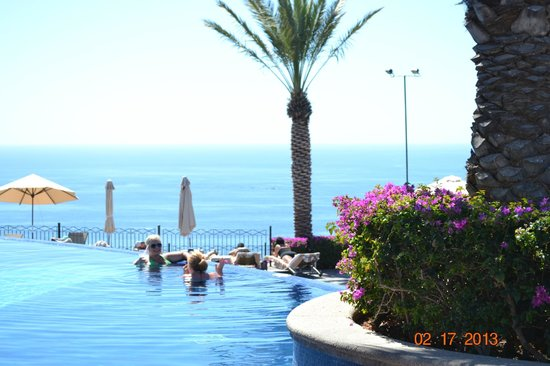 Pueblo Bonito Sunset Beach Golf & Spa Resort: View from Sky Pool