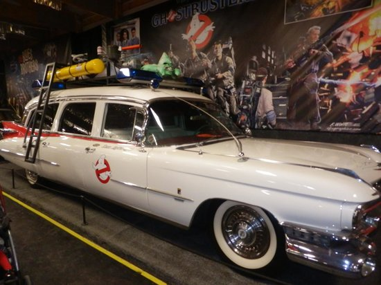 Volo Auto Museum:                   Ghostbusters