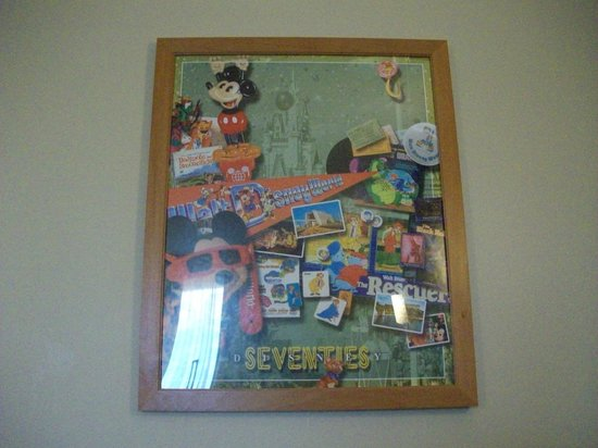 Disney&#39;s Pop Century Resort:                   picture in room