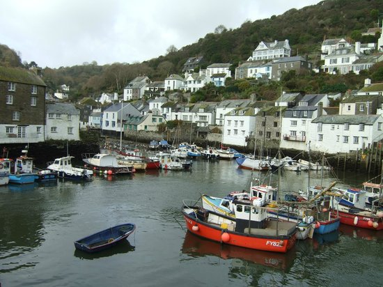 Penryn House Hotel: Polperro village in all its glory