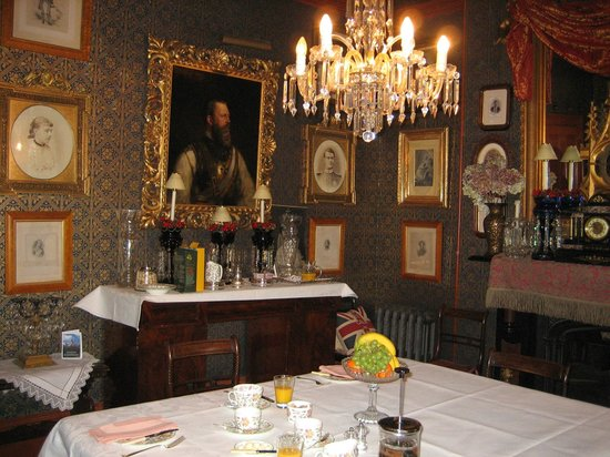 The Victorian Bed and Breakfast:                   Dining Room