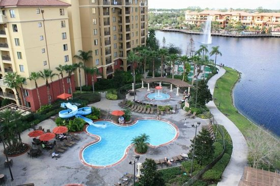Wyndham Bonnet Creek Resort:                   pool and kiddie pool