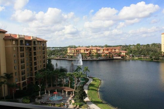 Wyndham Bonnet Creek Resort:                   view twr 3