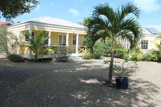 Antigua's Yepton Estate Cottages:                   Our cottage #2!