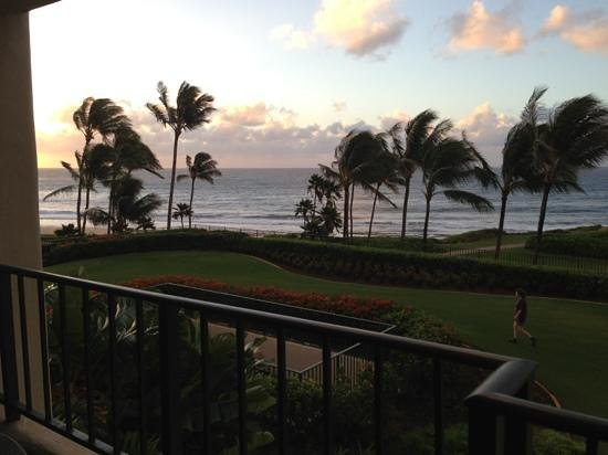 Grand Hyatt Kauai Resort and Spa:                   A view from our room...