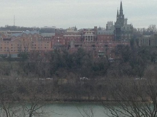 Key Bridge Marriott:                   Room 892 has this view (Zoomed In View)
