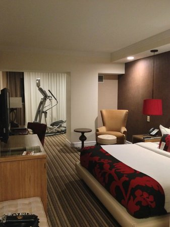 Hutton Hotel:                   my large room