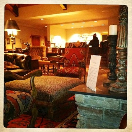 The Hotel Telluride:                   Lobby