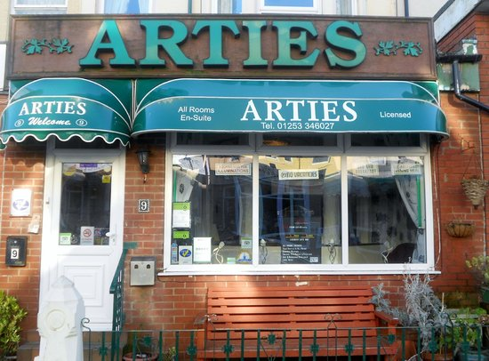 Photo of Arties Hotel Blackpool