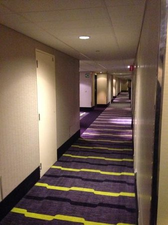 Sheraton Brussels Airport Hotel: hallway on the SPG floor