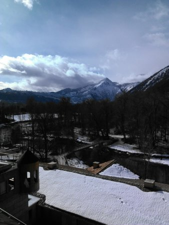 The Blackbird Lodge:                   Beautiful View from room