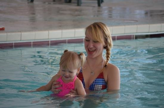 Wintergreen Resort & Conference Center:                   Pool fun!