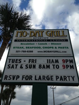 Malabar, FL: RSVP Large Party