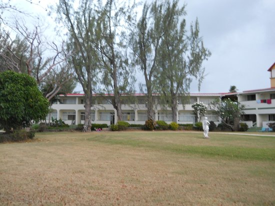 Crown Point Beach Hotel:                   One section of the hotel and grounds