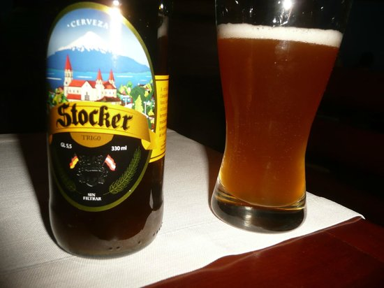 Hotel Cumbres Puerto Varas: Local beer