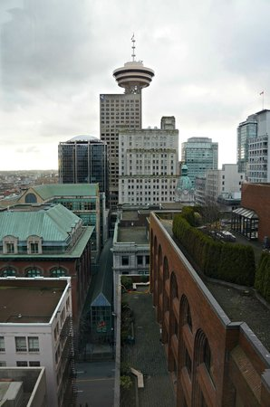 The Hotel at Terminal City Club:                   View in the morning from bedroom