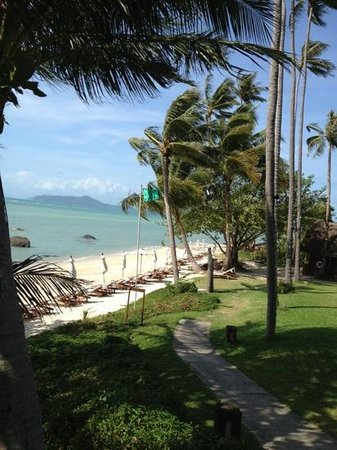 Laem Set, Thailand:                                     Beach at Kamalaya