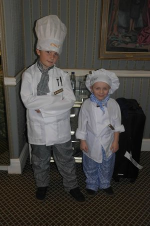 The Rubens at the Palace:                   Ready for action in the kitchen