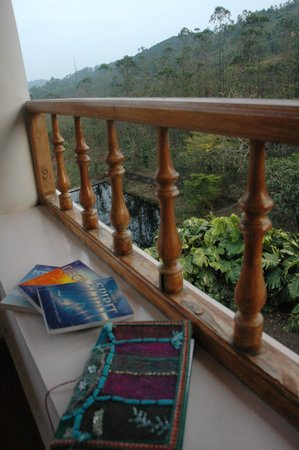 Mundax Homestay Yoga Retreat:                   Journaling & reveling in their book collection