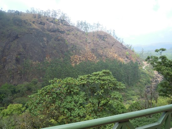 Abad Copper Castle Hill Valley Resort:                   View from the room