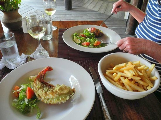 Calabash Hotel: Lobster lunch