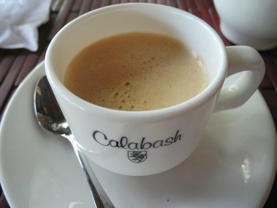 Calabash Hotel: Coffee please
