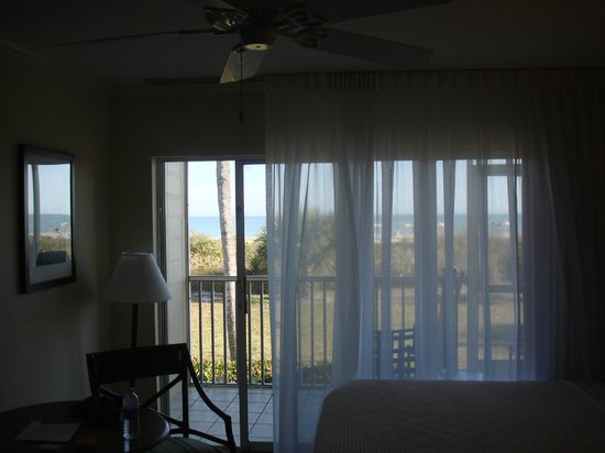 Seaside Inn:                   Looking out through porch