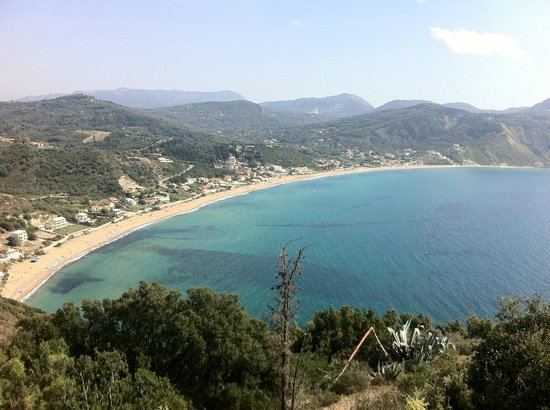 Hotel Costas Golden Beach:                                     View of AG from top of hill.  Worth the walk!