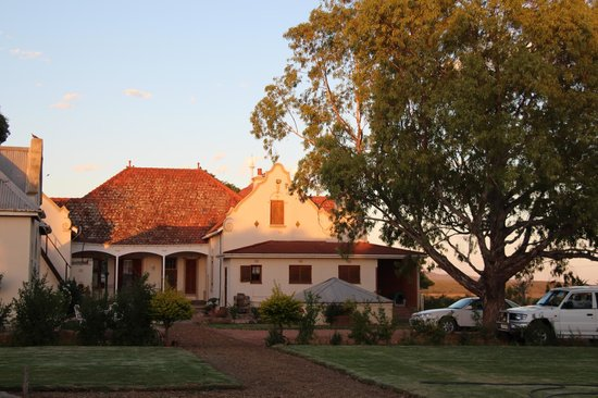Rietfontein Ostrich Palace:                   The main house