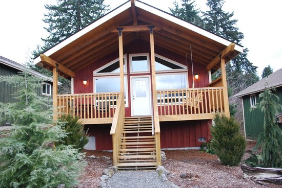Carson Ridge Private Luxury Cabins:                   Our Cabin