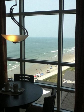 Prince Resort Condos:                   Ocean View From Tower 1 Priviate BLVD balcony