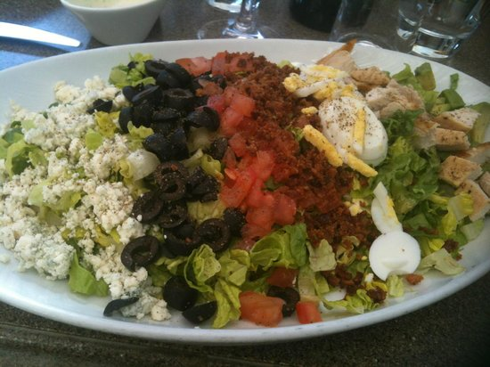 Fantasy Springs Resort Casino:                   Best Cobb Salad enjoyed on the Hotel Terrace