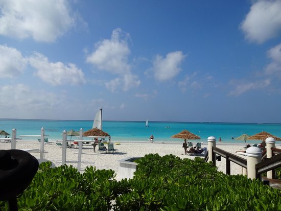 Sands at Grace Bay:                   our view