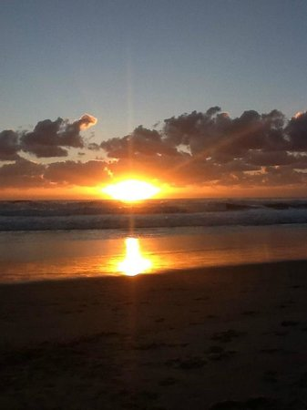 Tugun, Australien: Sunrise