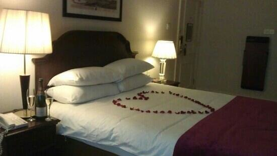 Macdonald New Blossoms Hotel:                   valentines stay