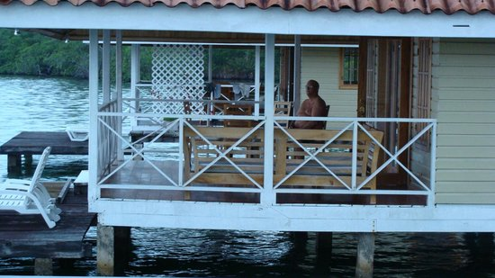 Bocas Villas:                   Nice View is all I can say that is good