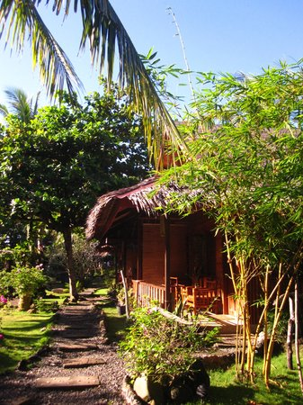 Oasis Resort: Beautiful bungalows