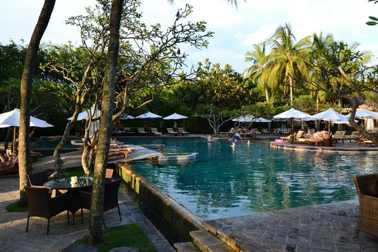 The royal beach seminyak bali mgallery collection nice pool area