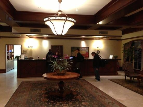 Bay Landing Hotel:                   front desk