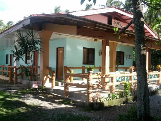 Pagudpud, Philippines:                   View of the homestay
