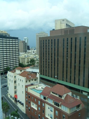 Novotel Brisbane:                   view of Brisbane from room 901