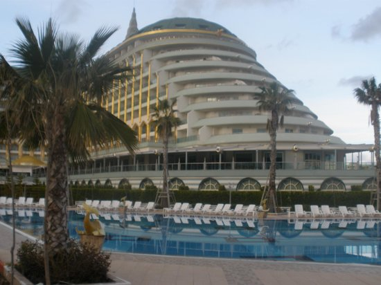 Delphin Imperial Hotel Lara:                   view from the pool