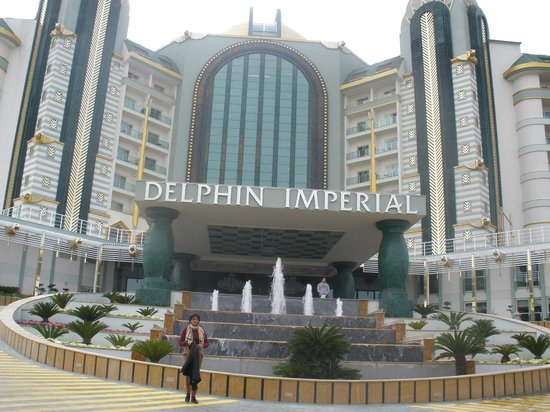 Delphin Imperial Hotel Lara:                   view from enterance
