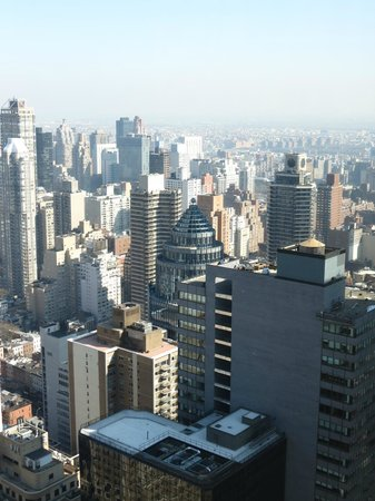 Four Seasons Hotel New York:                                     49th floor, corner room view