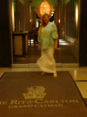 Ritz-Carlton Grand Cayman:                   Door in front of Seven