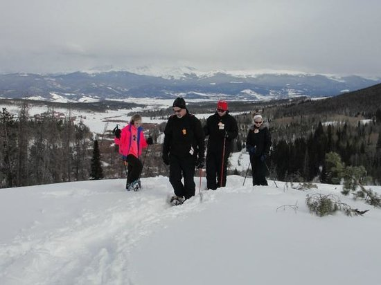 Snow Mountain Ranch:                   Snow Shoeing
