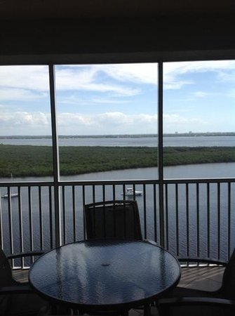 The Westin Cape Coral Resort At Marina Village:                   View from screened in patio -15th floor